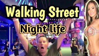 Download Pattaya, Walking street Late night walk | Best place to visit in Thailand 2019 Video