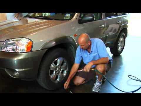 How to Check & Add Air to Car Tires
