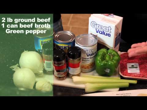 Best Chili Recipe for Slow Cooker - How to Make Chili Con Carne - Video Recipes for Truckers