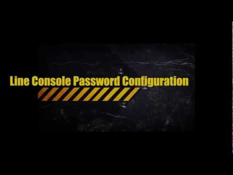 Networking (CCNA) Line Console Password Configuration