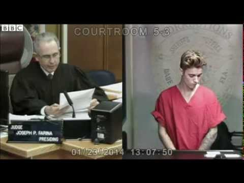 Justin Bieber on Miami drink-drive charge after 'road racing'