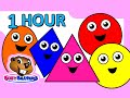 Colors And Shapes Dvd 1 Hour Super Simple Colours Little Bab