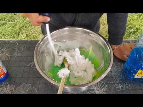 Comment faire du slime fluorescent