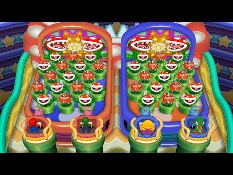 Mario Party 7 - All 2-vs-2 Minigames