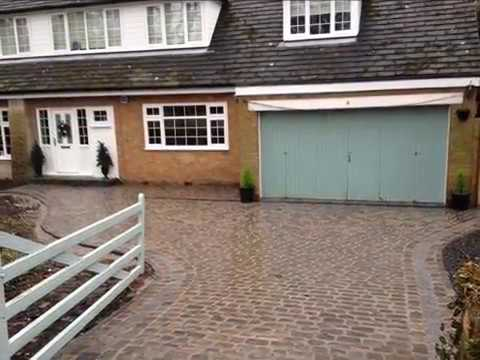 Original Cobblestone Driveways Design and Ideas By Abel Landscaping
