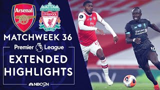 Arsenal v. Liverpool | PREMIER LEAGUE HIGHLIGHTS | 7/15/20 | NBC Sports