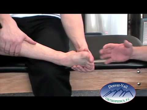 Ankle Sprains- Part 2  Stretching and Range of Motion Exercises