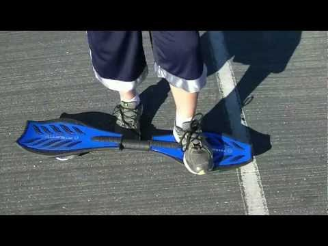 How To Ride A Razor Ripstick Caster Board Skateboard