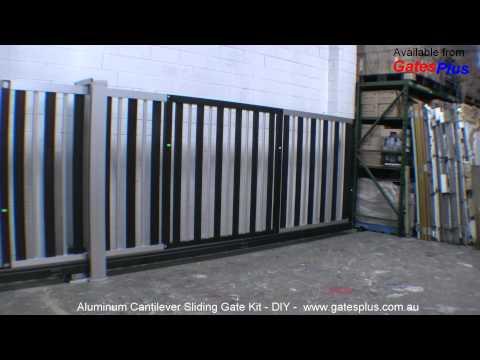 Aluminum Cantilever Gate - DIY