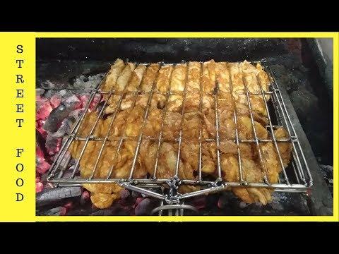 INDIAN STREET FOOD-ARABIC AL FAHAM GRILLED CHICKEN MAKING-ARABIAN alfaham making-arabian street food