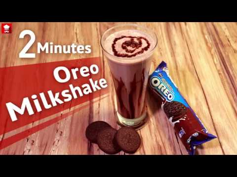 Oreo Milkshake | How To make Oreo Milkshake in 2 Minutes | Chocolate Milkshake | Tasty recipe | Food