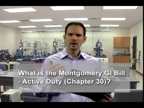 What is the Montgomery GI Bill – Active Duty (Chapter 30)?