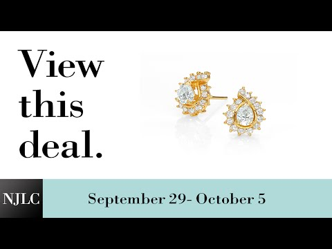 Deal of the Week: Yellow Gold Diamond Stud Earrings