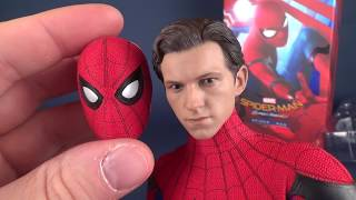How Realistic is the Hot Toys Spider-man Homecoming Spider-man?? #SpidermanHomeComing #HotToys