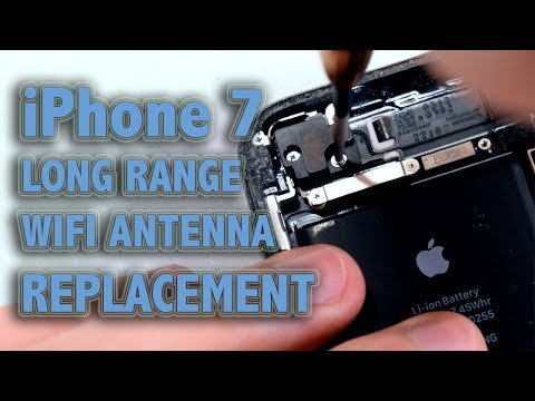 iPhone 7 Long Range WiFi Antenna Replacement