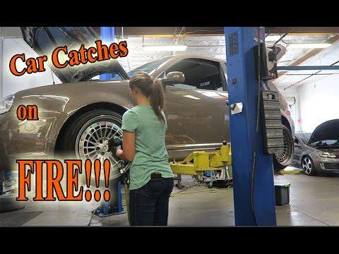 REPLACING Rear Main Seal on VW R32 VR6!! BONUS MEXICO FOOTAGE