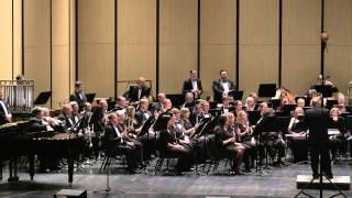 Austin Symphonic Band. February 7, 2015 concert at Austin ISD Performing Arts Center in Austin TX. ASB performing Where Never Lark or Eagle Flew by James Curnow. Music Director Richard Floyd conducting. Concert title: Tributes.