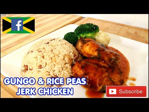 Sunday Dinner Real Jamaica Gungo. Rice And Peas. Serve With Jerk Chicken | Recipes By Chef Ricardo