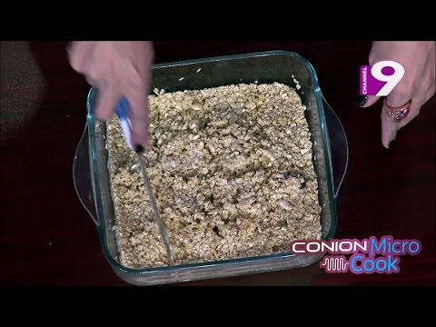 Microwave Oats Cake - Conion MicroCook - Powered by Best Electronics
