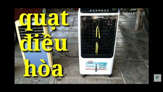 Đánh giá quạt điều hòa Sunhouse shd 7727||rated air conditioner fan Sunhouse shd 7727