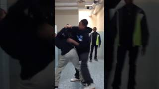 Fight at my school omg GONE WRONG