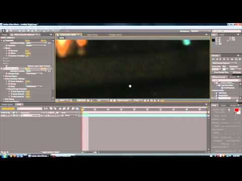Adobe After Effects 11 - fix Dark and-or grainy footage