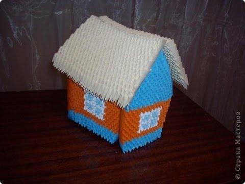 How to make 3D Origami House? - Hướng dẫn xếp ngôi nhà Origami 3D