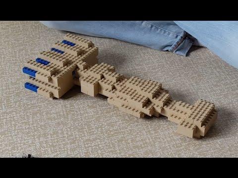 STAR WARS Building Lego Corellian Corvette Tantive IV