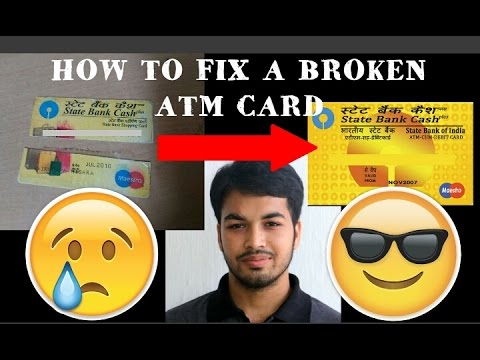 How to fix a Broken ATM card with proof- 100% working (Credit /Debit/Maestro/Visa/Master card )