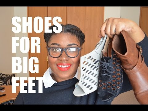 Where To Buy Shoes If You Have Big Feet!