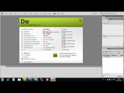 making website template in dreamweaver with using css, div and html