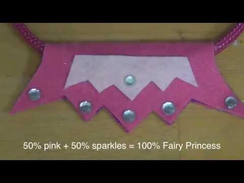 How to make a fairy princess tiara