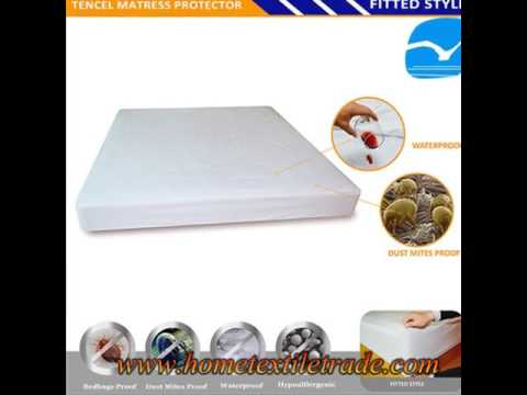 New Premium High Quality Quiet Comfort Waterproof Fitted Mattress Protector