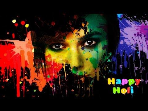 61.[Ps] Holi Special | Color Splash | - Photoshop Tutorial [In Hindi]