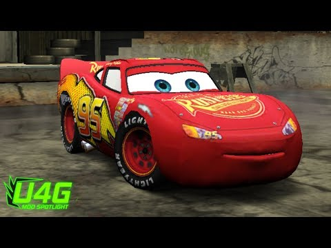Fantasy Lightning McQueen Need For Speed Most Wanted 2005 Car Mods