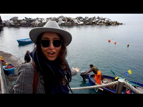 Cinque Terre (part one) - Italy Tour - ON A FISHING BOAT / Travel Vlog
