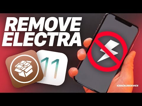 Un-Jailbreak Electra iOS 11 - 11.1.2 & Remove Cydia + iOS 11.4 (How to Delete Guide)