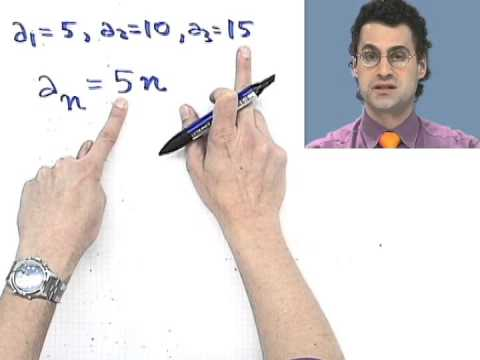 Finding the nth Term of a Sequence