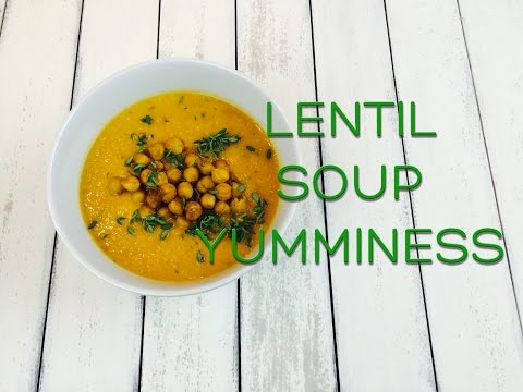 Lentil Soup with Chickpeas | A Healthy Vegetarian Meal For Weight Loss