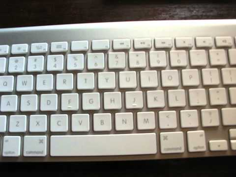 Apple Wireless Keyboard not work