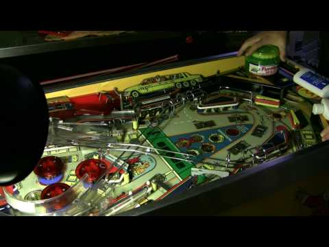 How to clean, polish, and wax a pinball playfield
