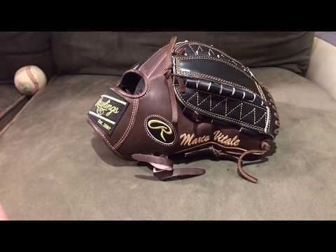 How to break in a pitchers baseball glove
