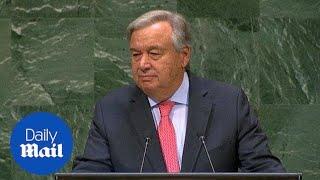 UN secretary general says the world has