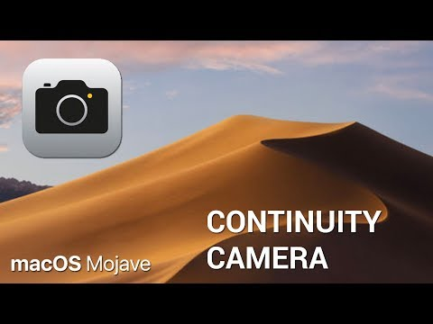 How to use Continuity Camera on macOS Mojave