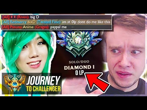 BOXBOX TRIES TO DEMOTE ME!! NNOOOOO!!! ft. Panunu - Journey To Challenger | League of Legends