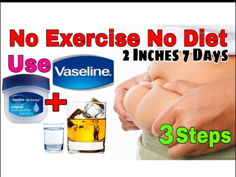 No exercise No Diet Use these 3 Steps To Reduce 2 Inches In 7 Days | reduce belly fat | weight lose