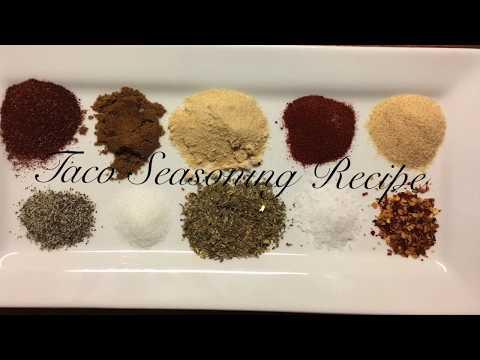 Homemade taco seasoning/Gluten free