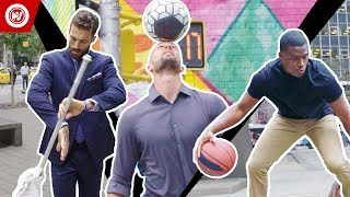 Suits & Skills Freestyle | Paul Rabil, DC Freestyle, Chris Matthews