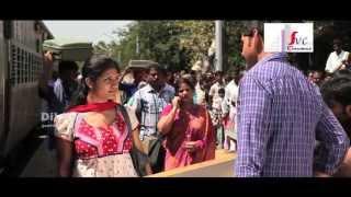 SVSC Movie Making | Mahesh Babu flirting a girl at Railway Station scene