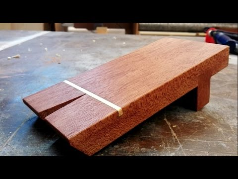 DIY bench pin / The best way to use a coping saw